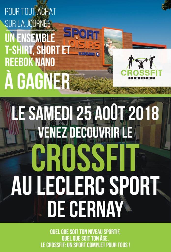 Journée CrossFit Leclerc Sport Cernay